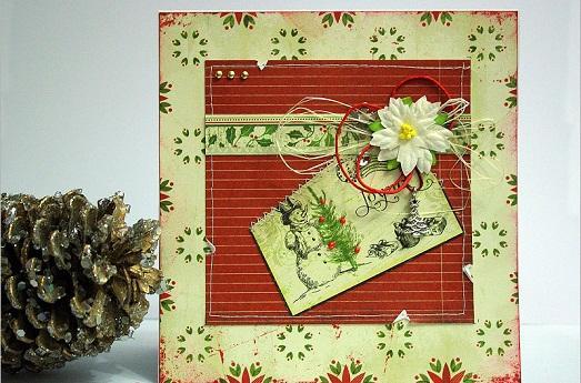 Новогодние открытки своими руками фото