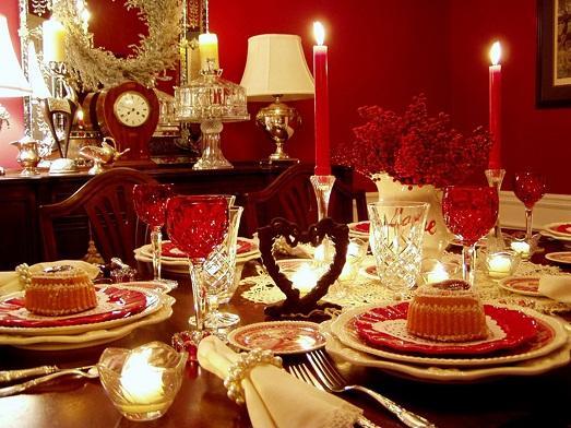 Великолепное украшение стола