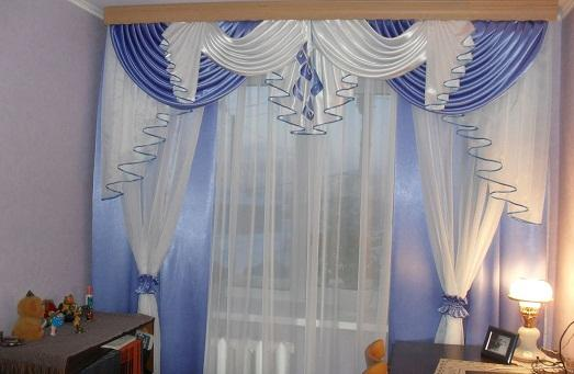 Пошив штор фото своими руками
